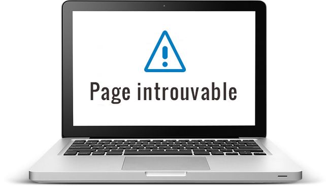 Page introuvable